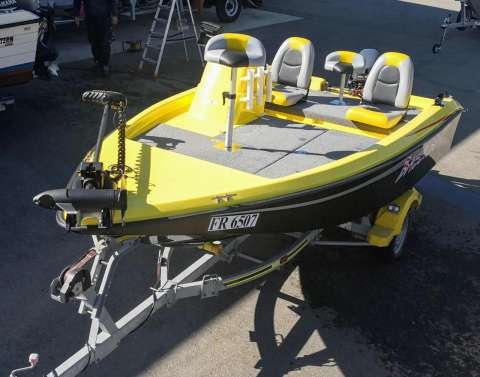 Acroplast Bass Boat 420