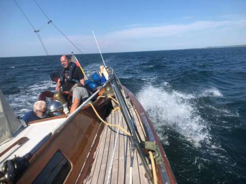 Sparkman and Stephens Classic Sailing Yacht