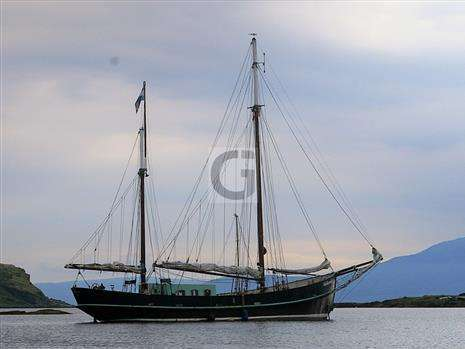 Traditional 24m Dutch Iron Sailing Barge