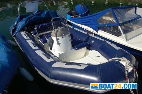 Blue Polyester 470 Sailboat Boat Deck Cover