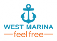 Logo by WEST MARINA