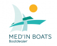 Logo de Med'in Boats