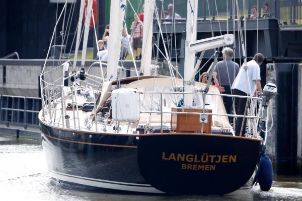 Legandärer Dreimaster «Langlütjen», ehem. «Marius IV»