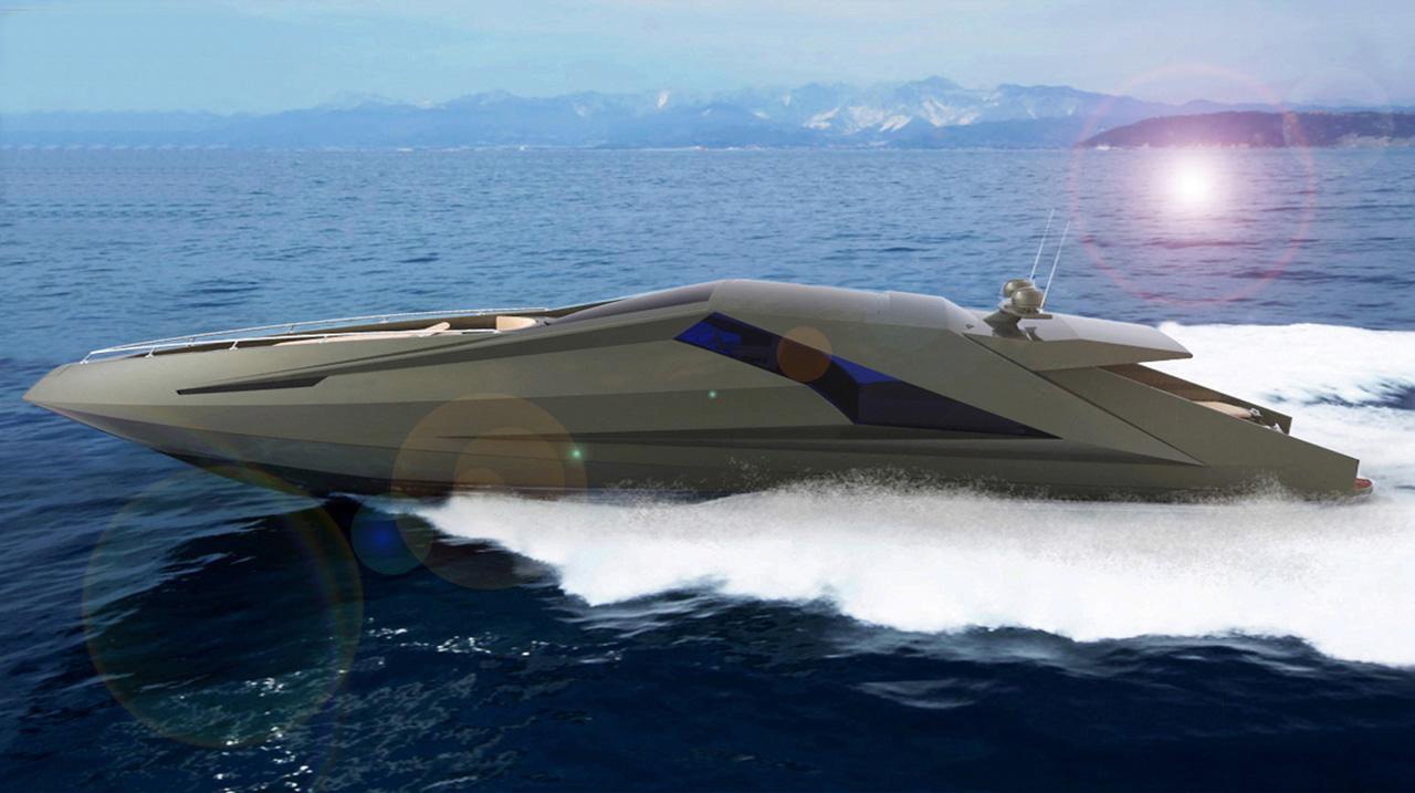 Lamborghini Yacht Mauro Lecchi