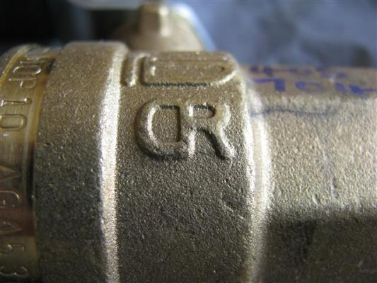 Seeventil: Nur wenn CR auf dem Messing steht sollten Sie es nehmen