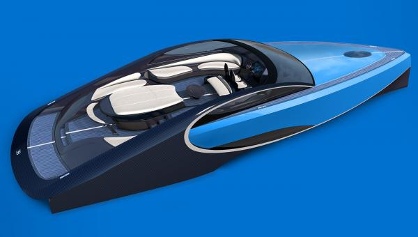 Blauer 1000 PS Racer