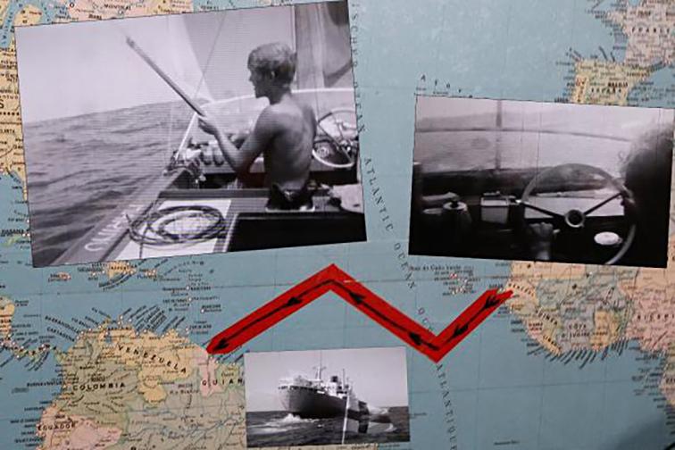 Die Strecke über den Atlantik