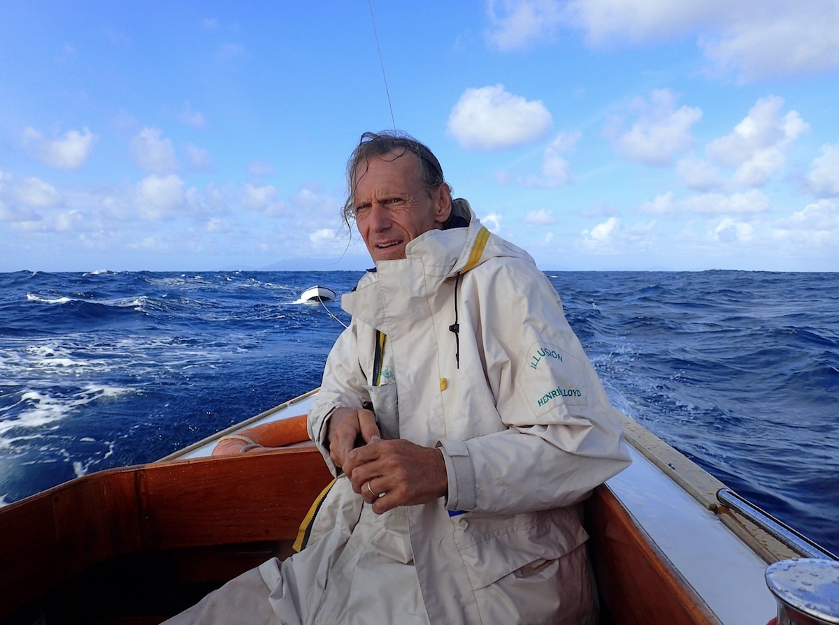 """Langer Ritt: Peter König steuert """"Everglow"""" zurück nach Mahé"""