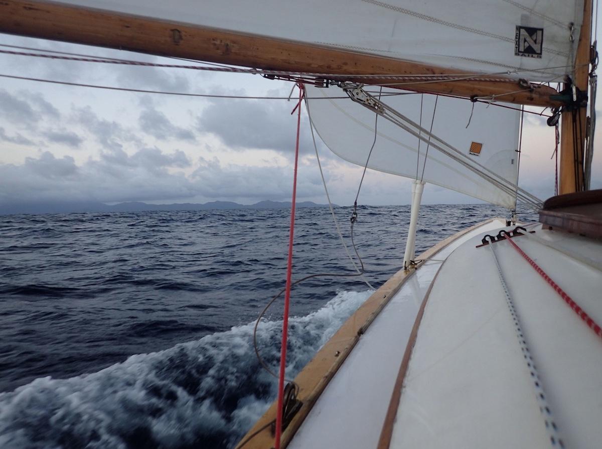 Land in Sicht: die Seychelleninsel Mahé