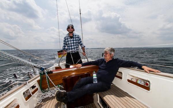 Mit einem Berliner Segler in der Lübecker Bucht
