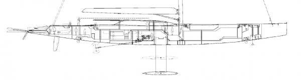 So sah der Entwurf in einem frühen Stadium aus