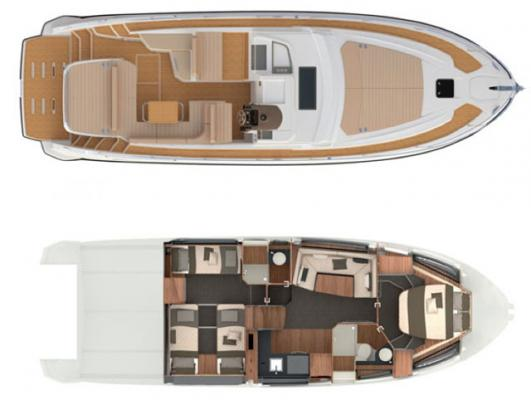 Layout Atlantis Azimut 43