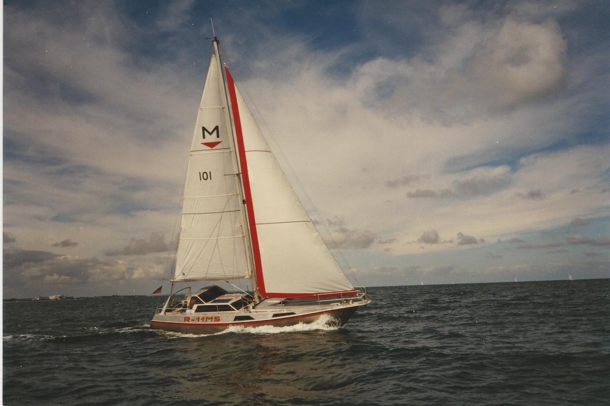 Die 11 MS segelte Kurt Reinke selbst