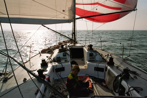 Der frühere Admiral's Cupper als Familienschiff