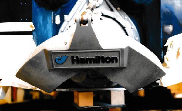 Blick auf das Visier der führenden neuseeländischen Marke Hamilton