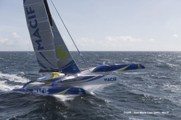 Macif und Francois Gabart halten den 24-Stunden-Speed-Weltrekord und die schnellste Einhand-nonstop-Weltumseglung