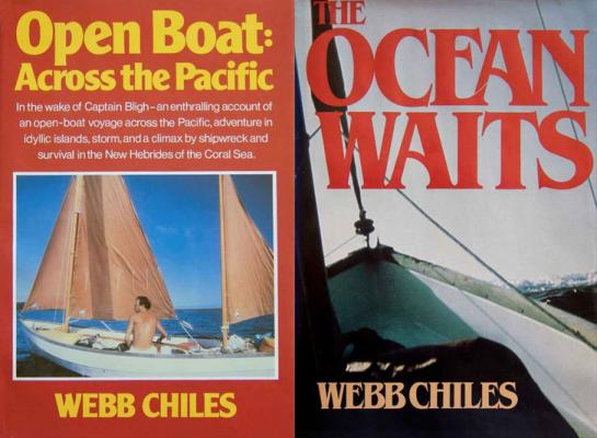 Buchcover «The Open Boat, Across the Pacific» und «The Ocean Waits»
