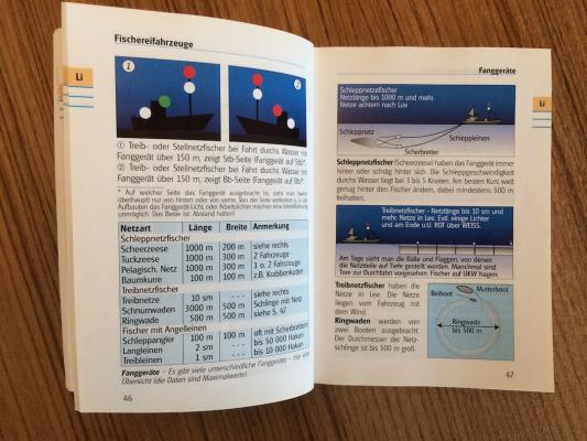 Blick in «Yacht-Bordbuch»