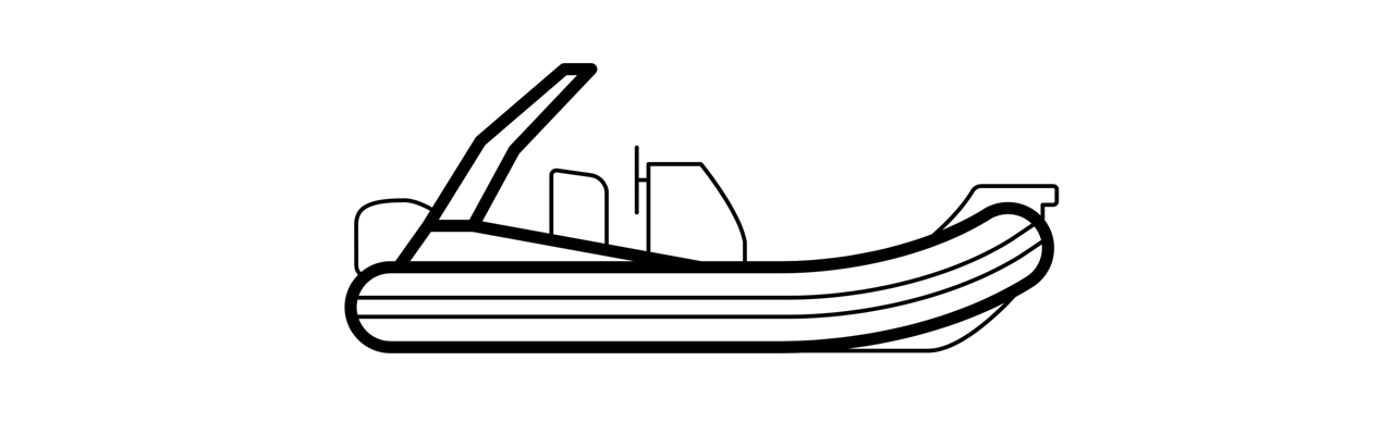 Festrumpfschlauchboot/RIB