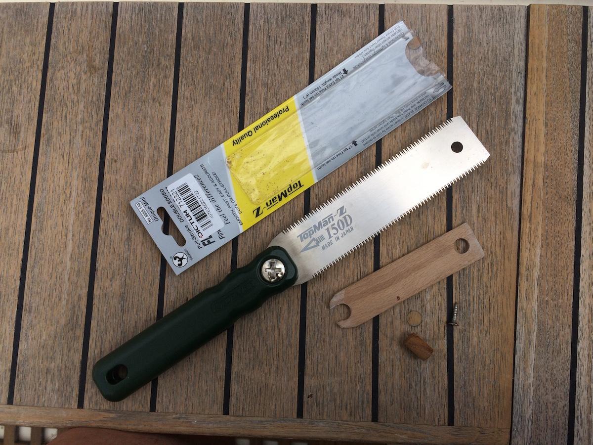 Mit der Japansäge gelingen kniffelige Holzarbeiten
