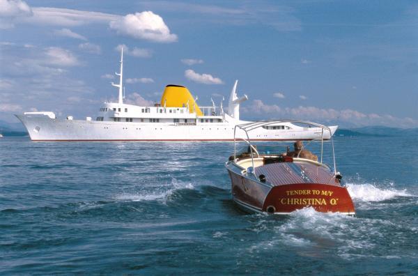 Die Mega-Yacht «Christina O» wurde für Aristoteles Onassis gebaut