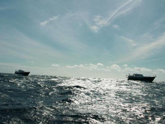 In der Flottille über den Atlantik