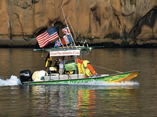 Mit dem Flatboat auf der Nordroute