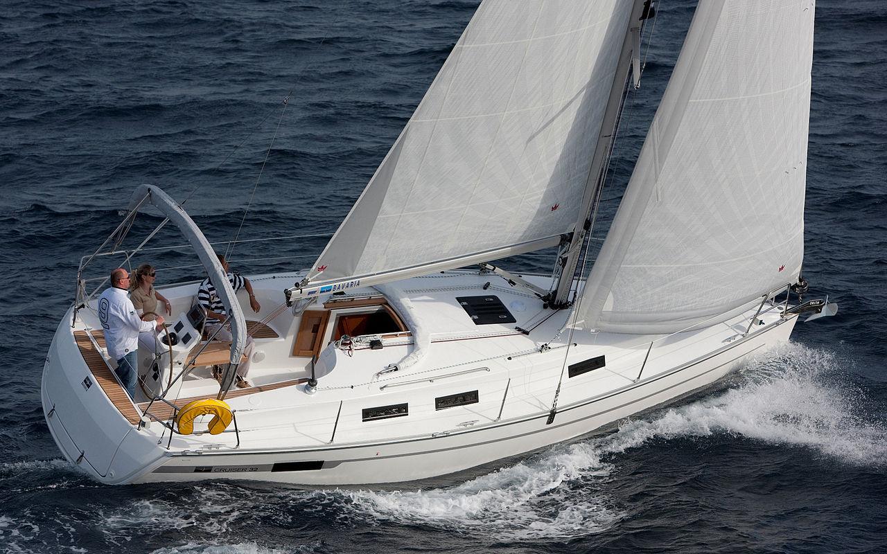 Die Bavaria 32, das beliebteste Segelboot auf boat24.com