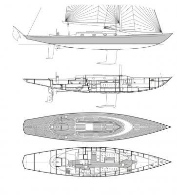 Smarter Crossover aus vertrauten Formen und moderner Kiel-/Ruderkonfiguration