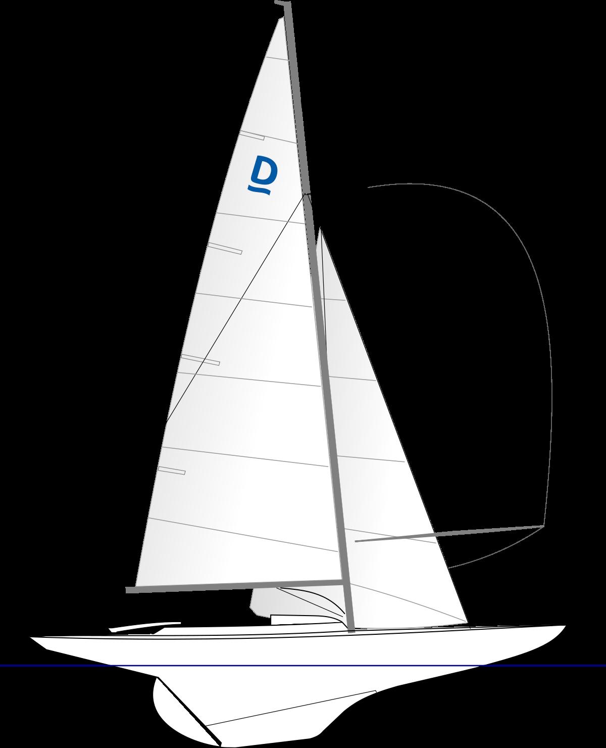 Riss Drachen mit Klassensymbol «D»