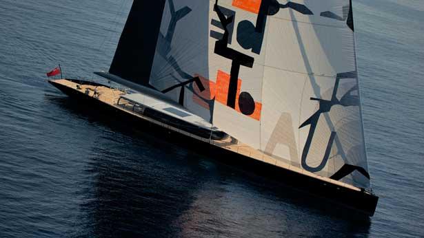 Die 'Ahimsa' ex. 'Aglaia' ist 66 m lang © Dubois Yacht Design