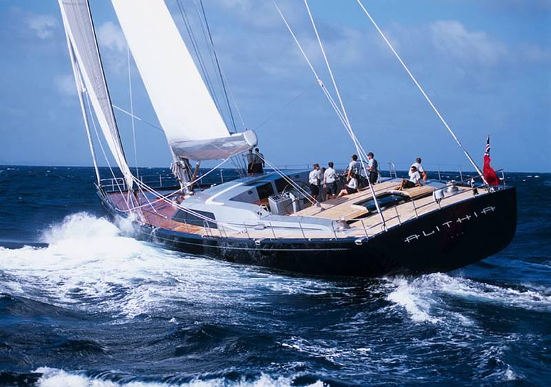 Stollmanns Luxus Yacht Alithia© ALITHIA