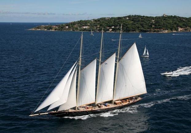 Die Replik der 69,24 m langen 'Atlantic' segelt seit 2010 © Fraser Yachts