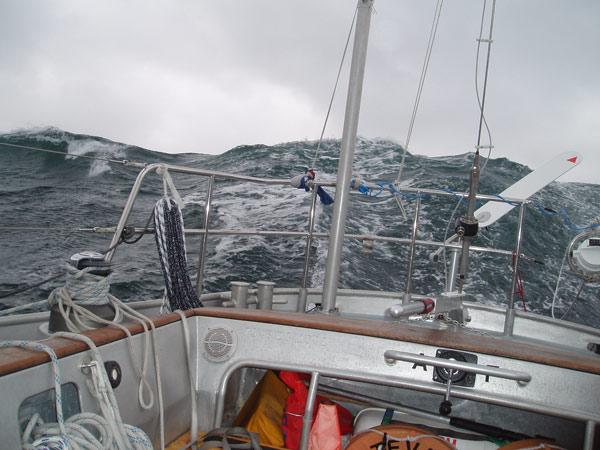 Wer sein Boot nutzen statt reparieren will setzt auf bewährte Hardware: 'Bestevaer2' in der Nordsee: © Gerard Dykstra