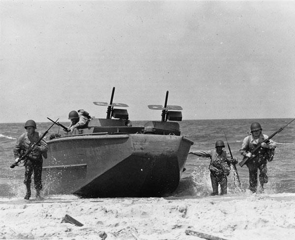 Landungsboote für den D-Day ©JEWEILS CHRIS CRAFT