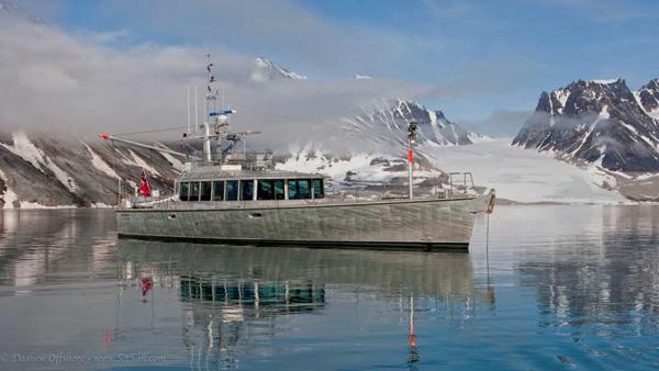 Auch Schnee und Eis sind kein Problem für den FPB Explorer ©setsail