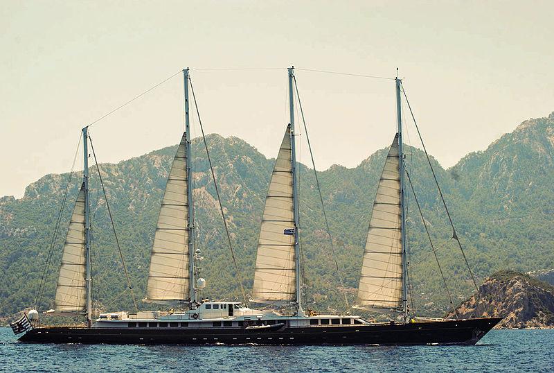 Die 75,13 m lange ' Phocea' © Wikipedia/Cyrüz