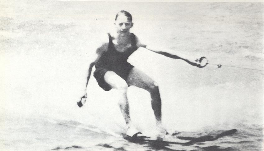 Ralf Wilford Samuelson wuchs am Lake Pepin bei Lake City in Minnesota/USA auf und war genau das, was man sich als amerikanischen Sonnyboy so vorstellte. © Archiv Stadtmuseum Lake City