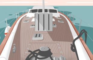 Der allgemeine Zustand des Bootes
