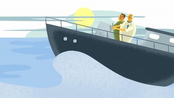 Wie präsentiere ich das Boot?