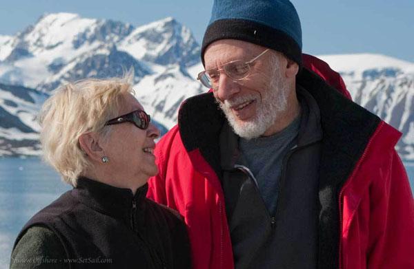 Linda und Steve Dashew ©setsail