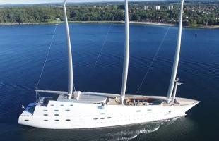 Segelyacht A - Die moderne Galeone