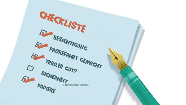 Checkliste für den Bootskauf