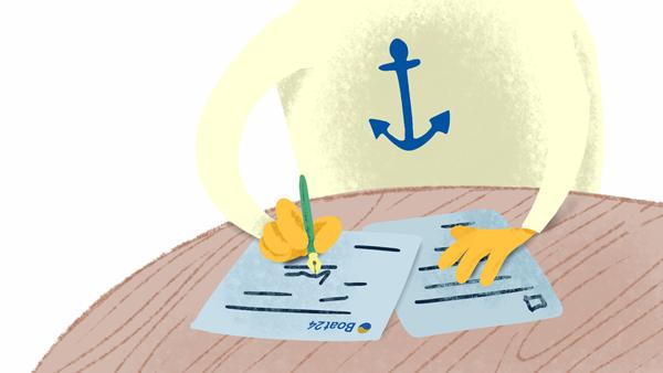 Kaufvertrag Für Gebrauchtboote Boat24comde