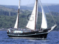Traditional 24m Dutch Iron Sailing Barge Classic Sailing Yacht
